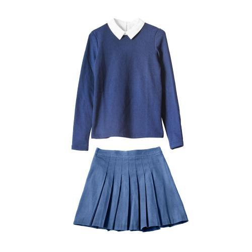 冬季女生校服